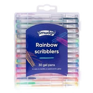 Rainbow Scribblers Gel Pen Set x 30 Pack