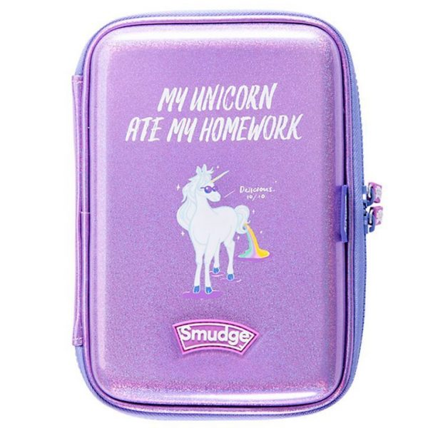 Unicorn Ate My Homework Hardtop Pencil Case