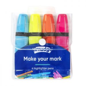 Make Your Mark Highlighter Pen Set x 4 pack