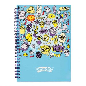 Mini Monsters A5 Spiral Notepad