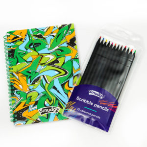 Live Loudly Spiral Notebook Scribble Pencil Set 1024x1024 300x300 - Live Loudly Spiral Notebook & Scribble Pencil Set