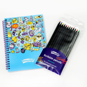 Mini Monster Spiral Notebook Scribble Pencil Set 1024x1024 300x300 - Kids Stationery Sale