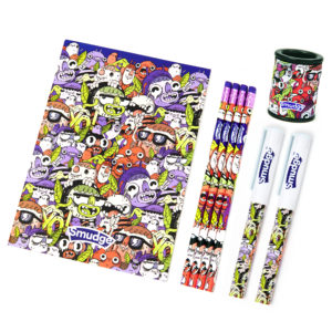 Monsters Stationery Set 2 300x300 - Mini Monsters Penning & Sketchers Set