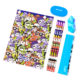 Monsters Stationery Set 80x80 - Live Loudly Sketchers Set